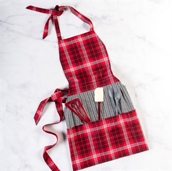 Picture of ESTHERS HOLIDAY APRON - FULL SIZE